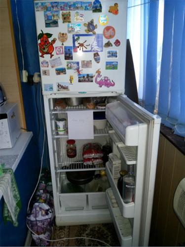 Холодильник выключается сразу после включения